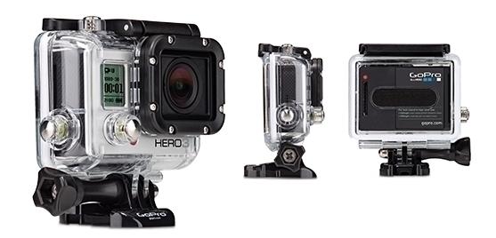 GOPRO HERO3+ Silver Edition - Caméra HD