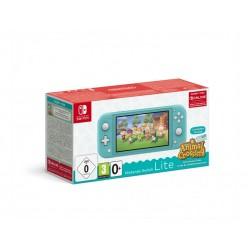 Pack Nintendo Switch Lite Turquoise  Animal Crossing New Horizons