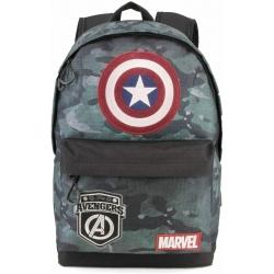 KARACTERMANIA Captain America Army-Hs Sac à Dos Décontracté Dos, 42 CM, 23 Liters, Multicolore