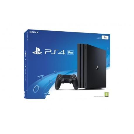 Sony PlayStation 4 Pro (PS4 Pro) 1To avec 1 pièce manette sans fil - Noir A region Blu-ray
