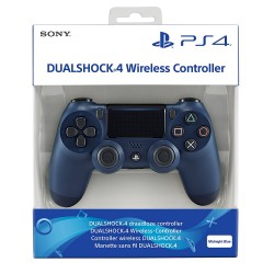 SONY MANETTE PS4 DualShock 4 Wireless Controller (Midnight Blue) - Sony