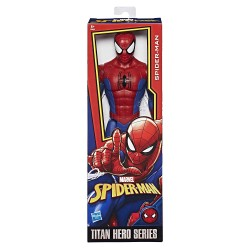 Marvel Spiderman - Spiderman Figurine Titan Spider Man 30 cm, E0649