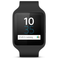 Sony SWR50 Silicon Smart Watch 3 (Noir)