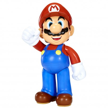 MARIO Figurine Mario 50 cm avec 11 Points d'Articulations