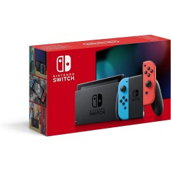 NINTENDO SWITCH RED NEON JOY CON