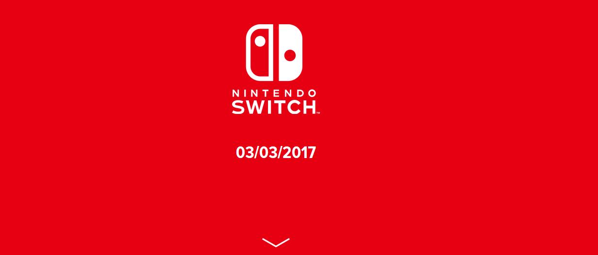 nintendo slide 1 sortie 3 mars 2017