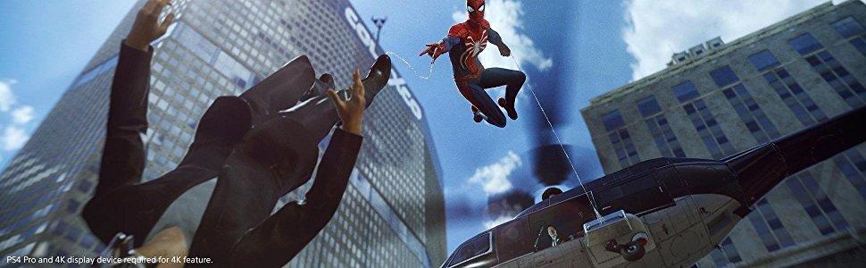 spiderman en action dans newyork