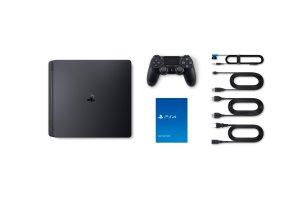 console playstation 4 slim 500 go jet bl